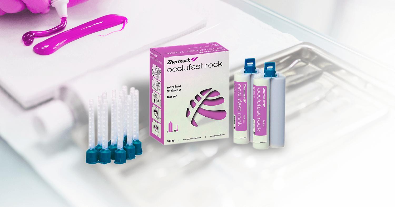Silicone de adição Occlufast Rock – O material ideal para os procedimentos de registro oclusal