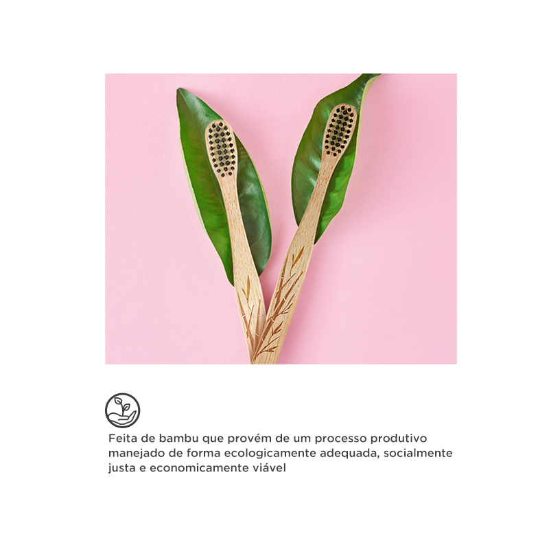 Bamboo biodegradável | hábitos sustentáveis