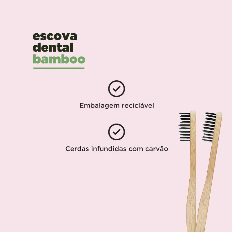 Escova Bamboo | Colgate | hábitos sustentáveis