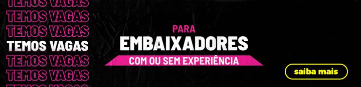 Banner falando sobre embaixadores